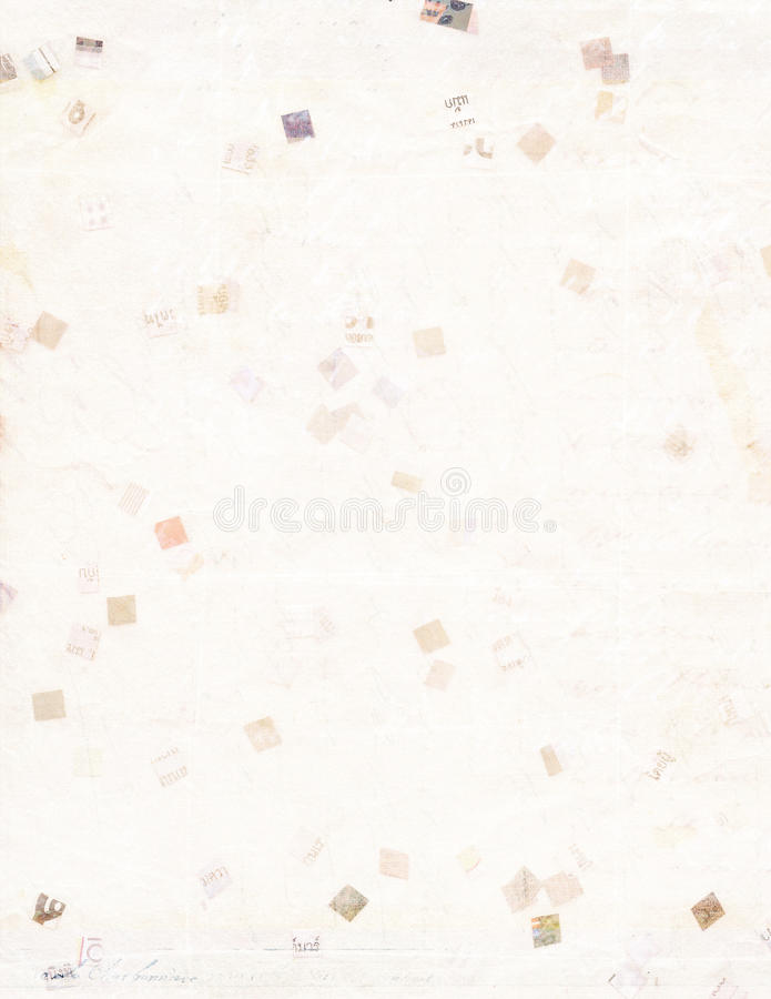Download Recycled Paper In Printable A4 Size Stock Image - Image: 27747515