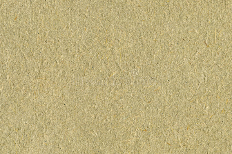 Recycled Paper Texture Background Pale Tan Beige Sepia Textured Macro Closeup Horizontal Straw Natural Rough Rice Copy Space stock image