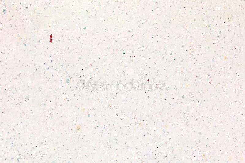 Recycled skrynklade vitboktextur eller pappersbakgrund för design royaltyfria foton