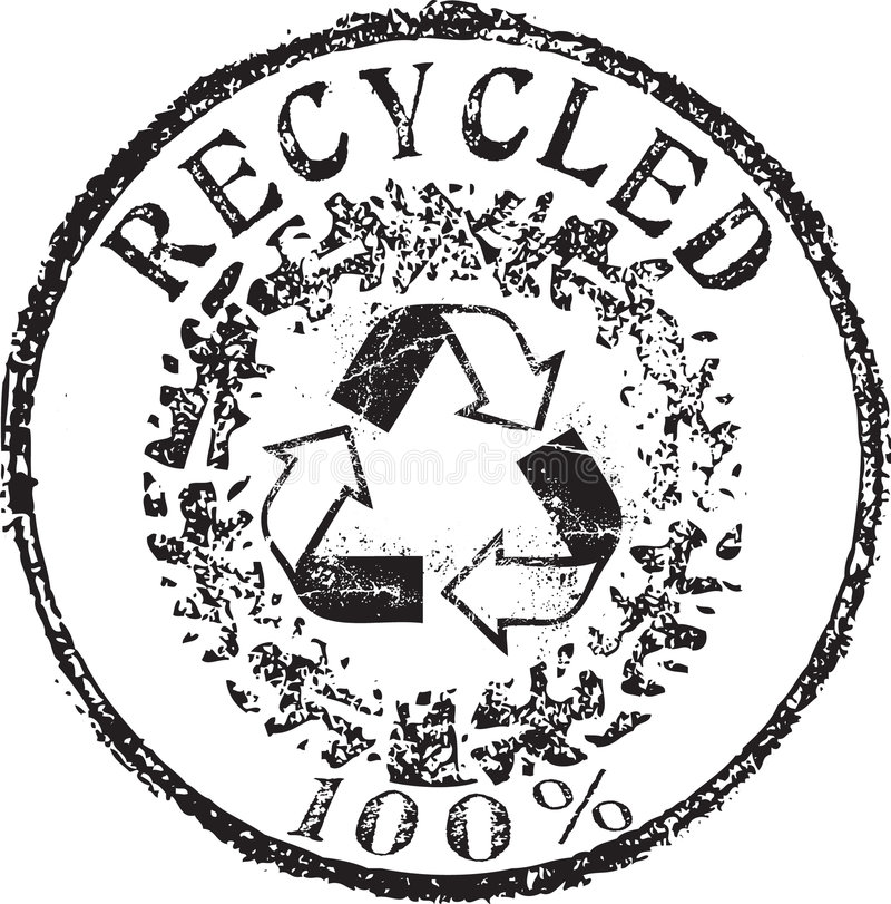 Recycled stamp