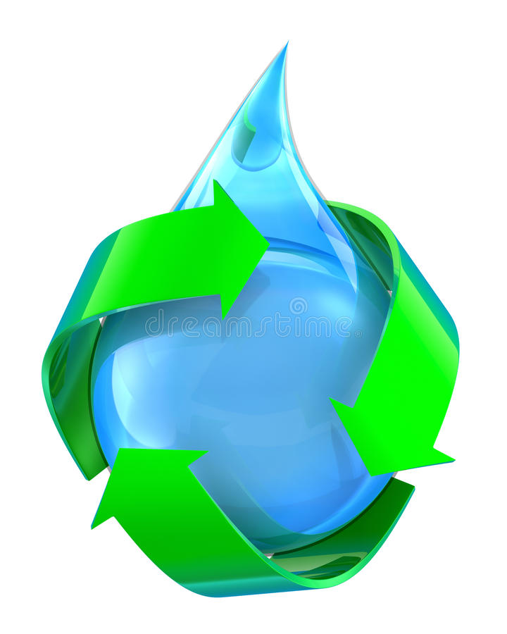 Recycled Water Royalty Free Stock Images