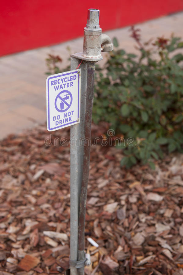 Recycled Water Royalty Free Stock Photos