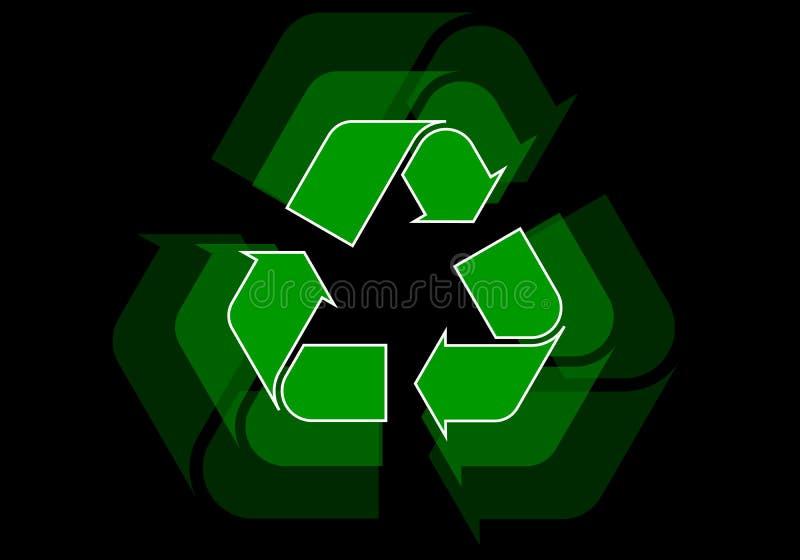Recycleer stock illustratie