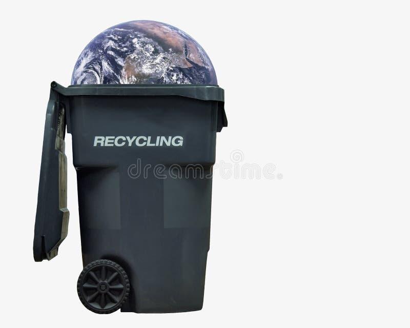 Recycleer de Aarde royalty-vrije stock fotografie