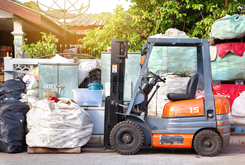 Recycleer de Industrie royalty-vrije stock fotografie