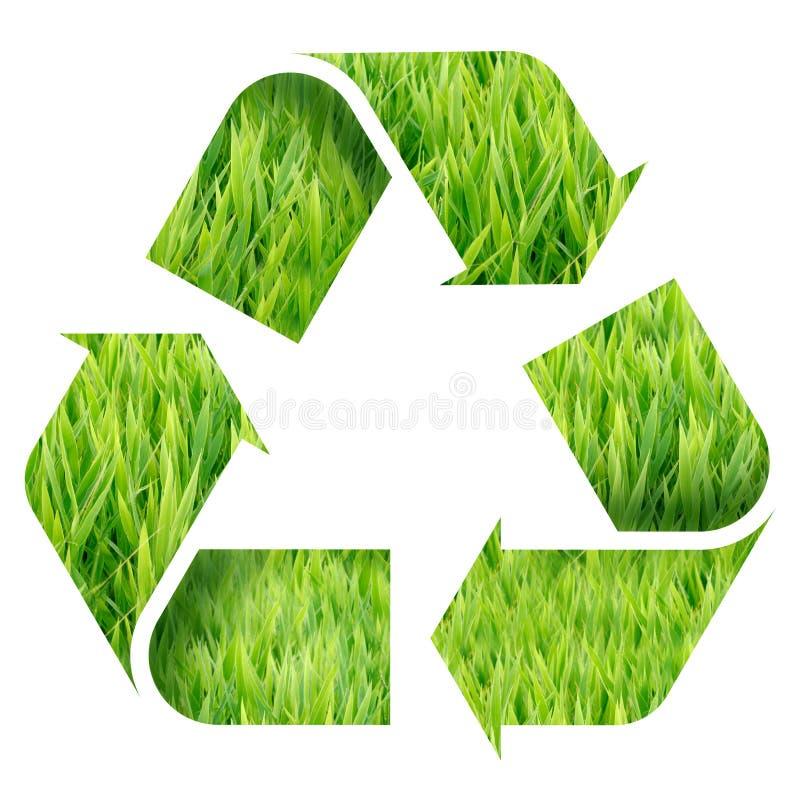 Recycleer Embleem vector illustratie