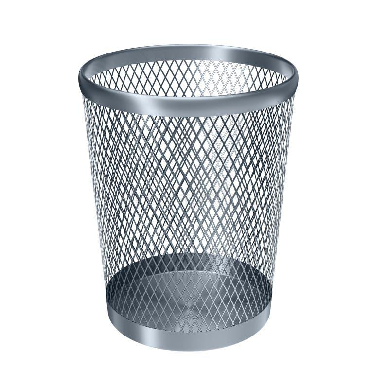 Recycleer lege bak royalty-vrije illustratie