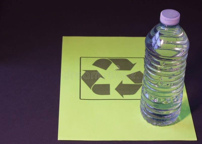Recycleer me stock foto
