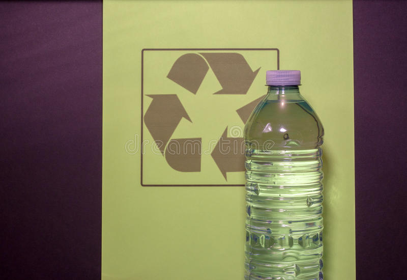 Recycleer me stock afbeelding
