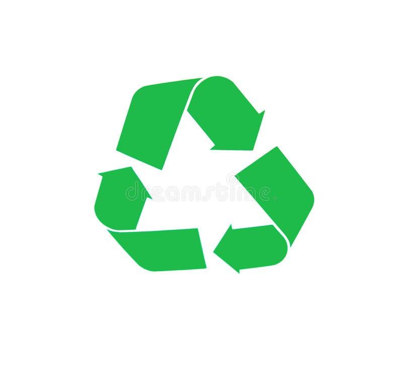 Recycleer pictogram stock afbeeldingen