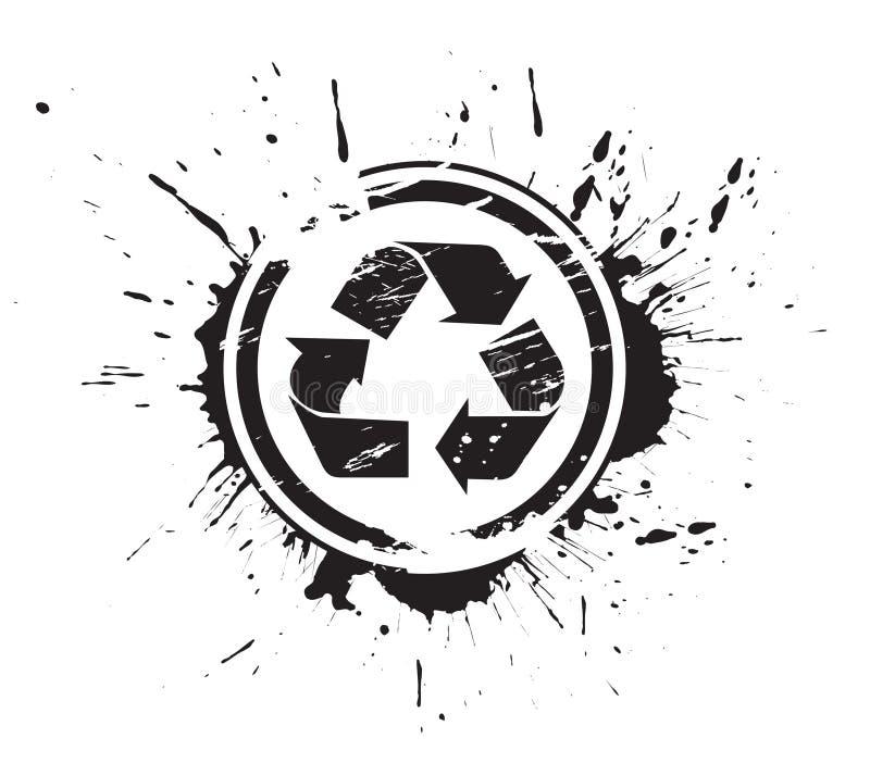 Recycleer pictogram vector illustratie