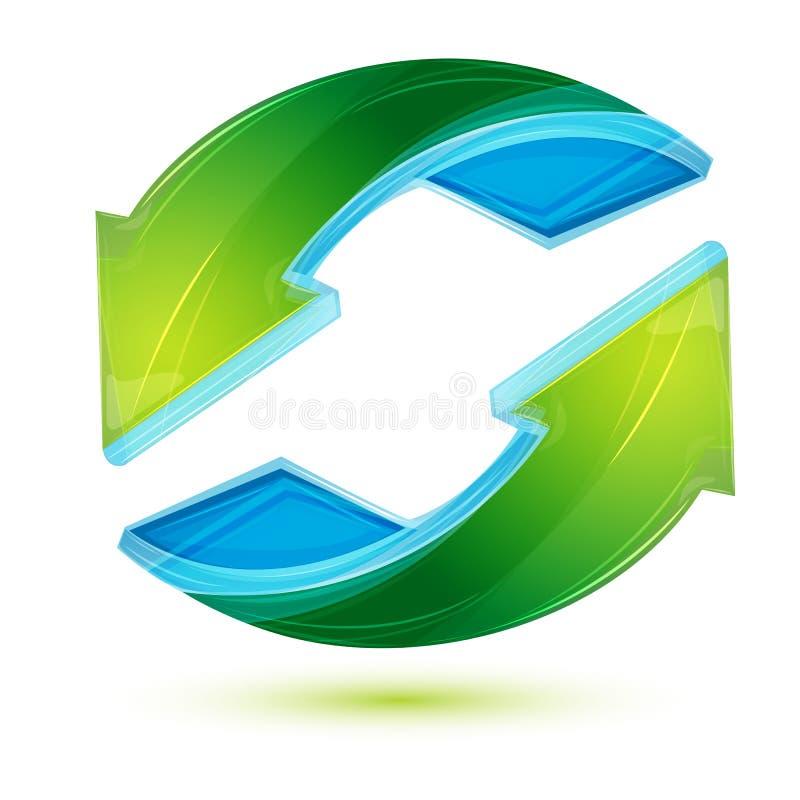 Recycleer pijl