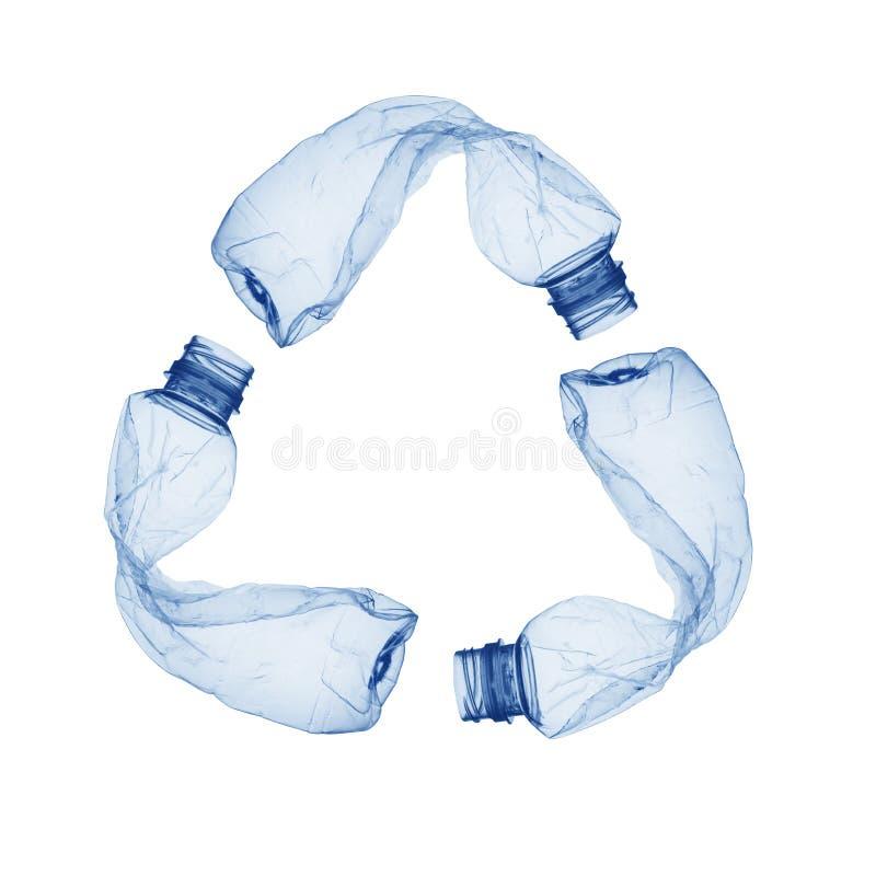 Recycleer symbo royalty-vrije stock afbeelding