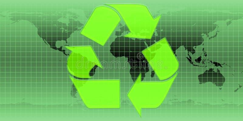 Recycleer Symbool stock illustratie