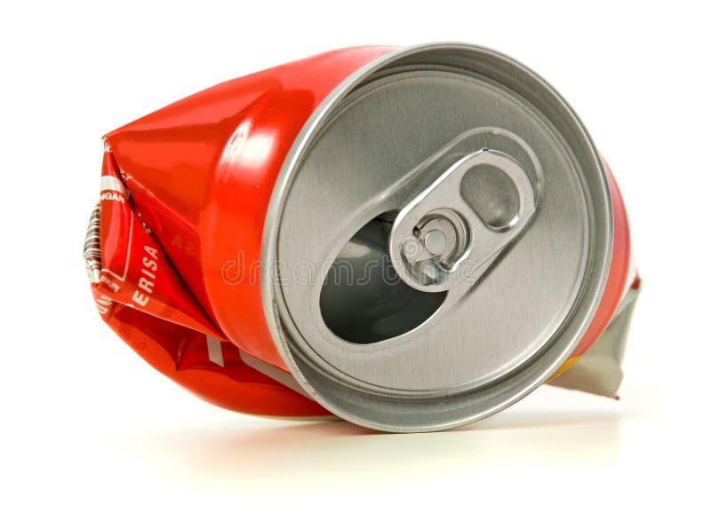 Recycleer tin royalty-vrije stock afbeelding