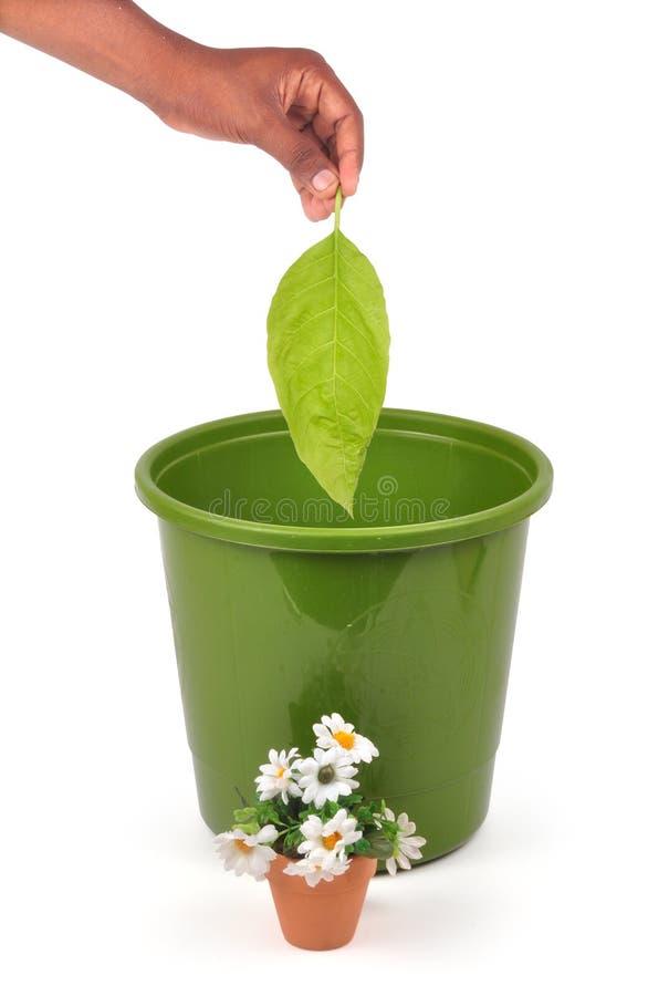 Recycleer - weg royalty-vrije stock foto's