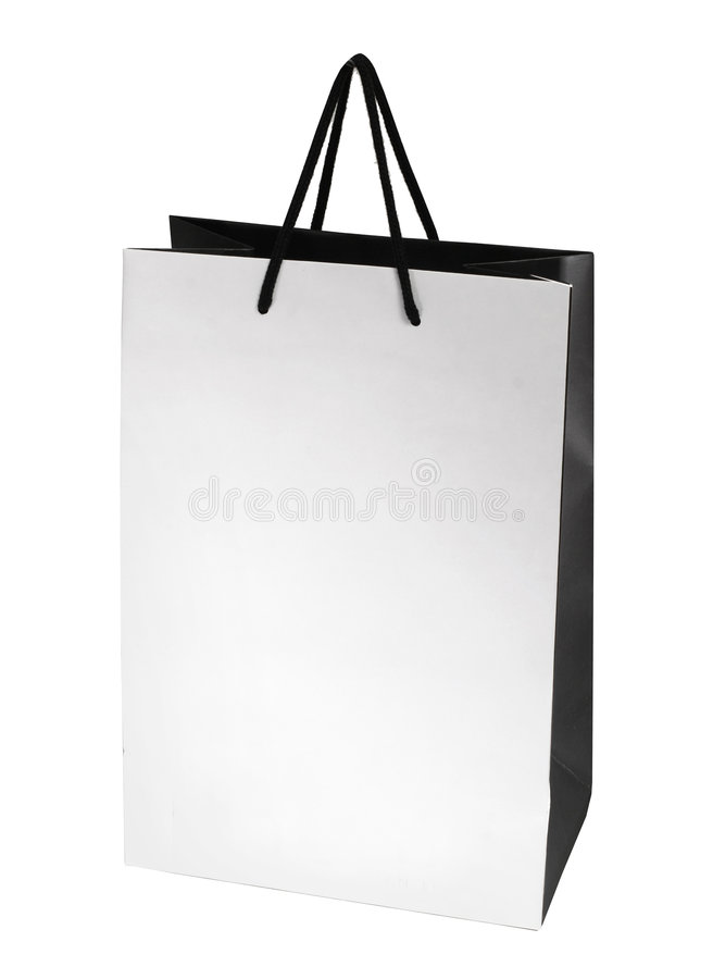 Recycleer zak royalty-vrije stock afbeelding