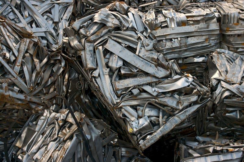 Recyclerend metaal stock afbeelding