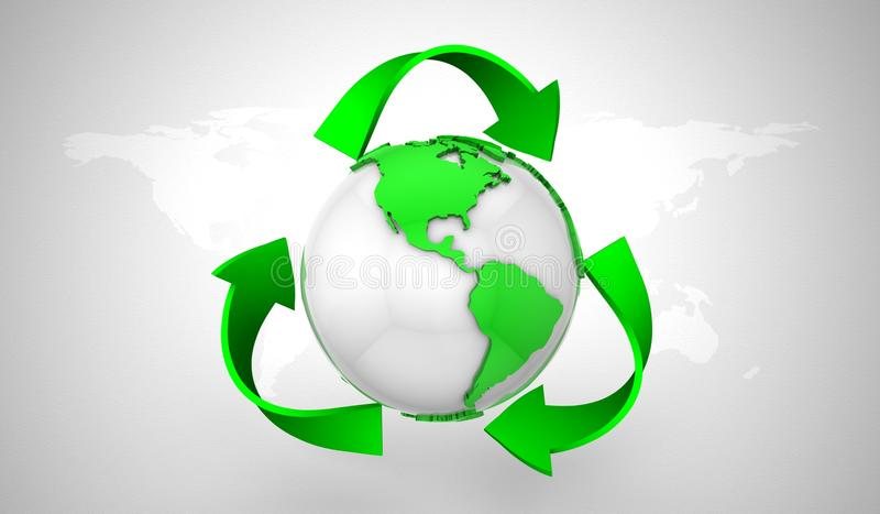 Download Recyclerend Symbool stock illustratie. Illustratie bestaande uit milieu - 29505681