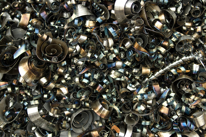Recyclerend vijlsel royalty-vrije stock foto's