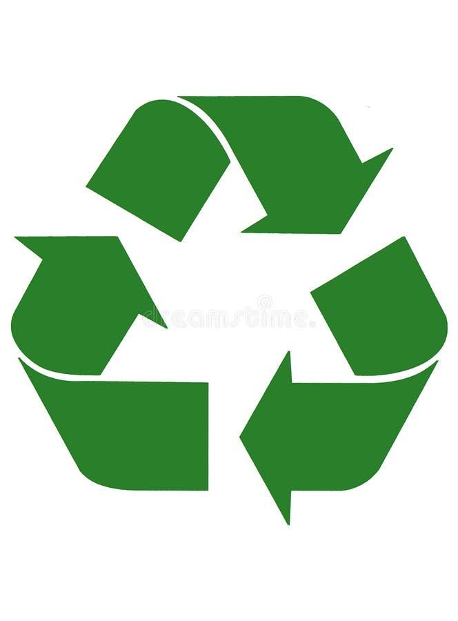 Recyclerende Pijlen royalty-vrije illustratie