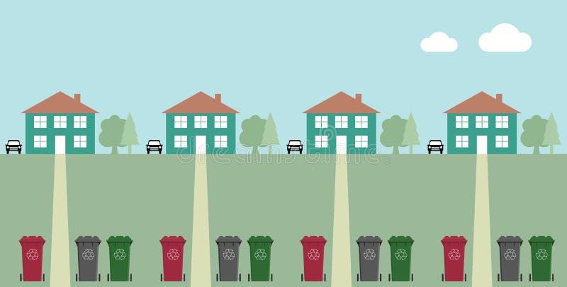 Recycling vector illustration