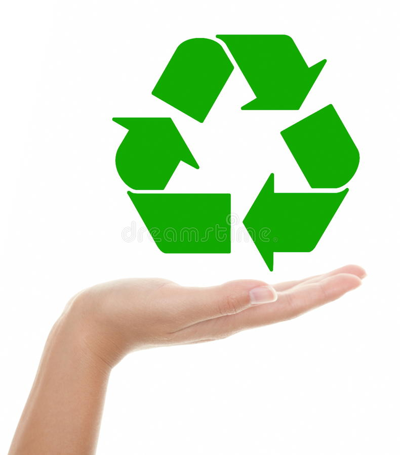 Recycling stock afbeelding