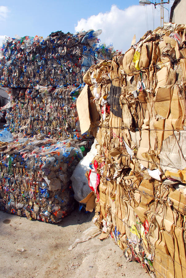 Download Recycling editorial stock photo. Image of drink, bundled - 14646413