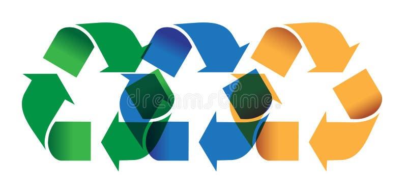 recycling imagem de stock royalty free