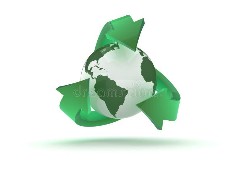 Recycling stock illustratie