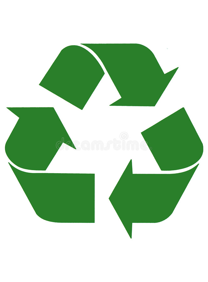 Free Recycling Arrows Royalty Free Stock Photo - 999285