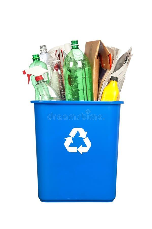Recycling bin royalty free stock photos