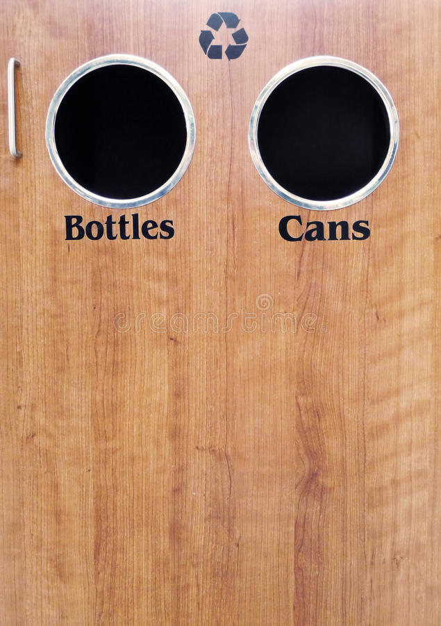 Download Recycling bottles and cans stock image. Image of ecology - 10979513