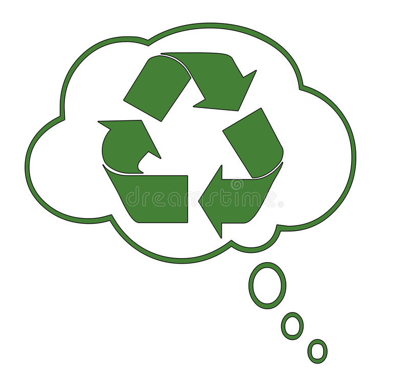 Recycling Dream royalty free stock images