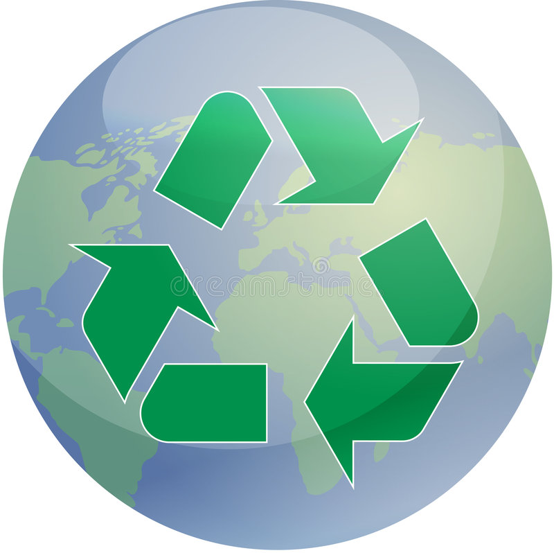 Download Recycling Eco Symbol Stock Photography - Image: 6017652