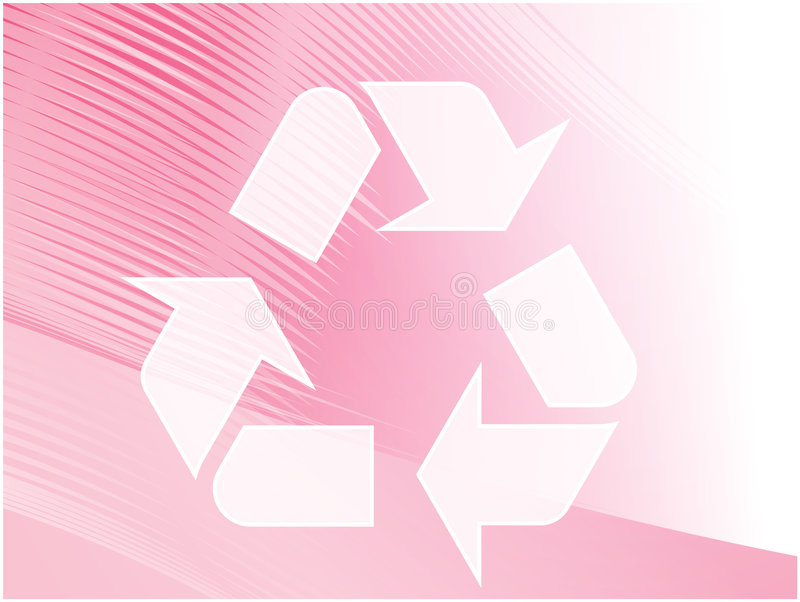 Download Recycling eco symbol stock vector. Image of sustainable - 6342014