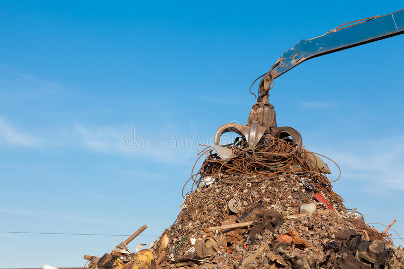 Recycling metal stock photography