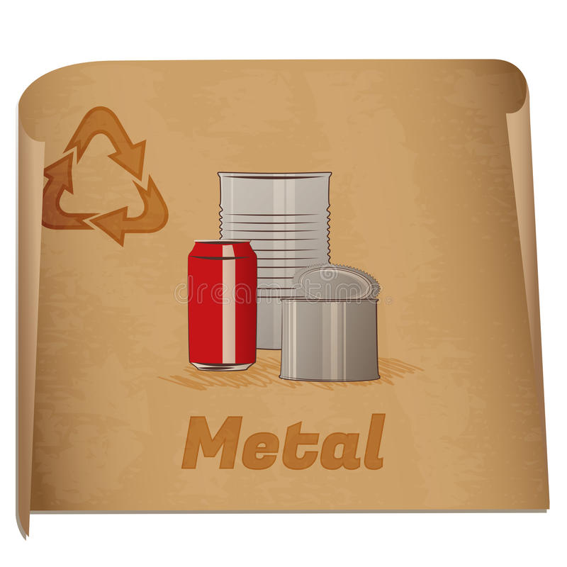 Download Recycling Metal Memo Royalty Free Stock Images - Image: 27836009