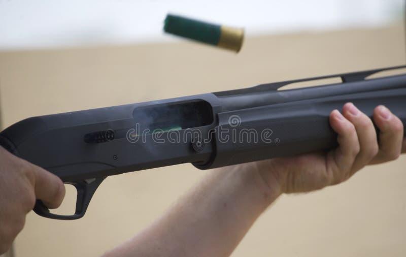 Download Recycling shotgun stock image. Image of hull, trigger - 27022415