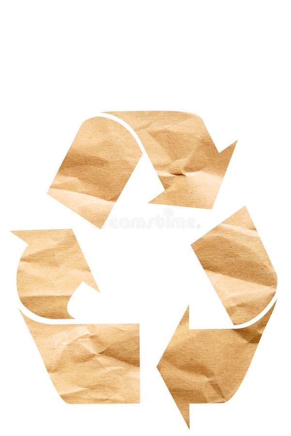 Recycling symbol vector illustration
