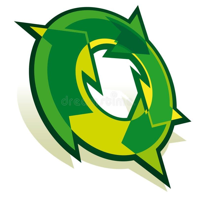 Recycling Symbol Royalty Free Stock Photo