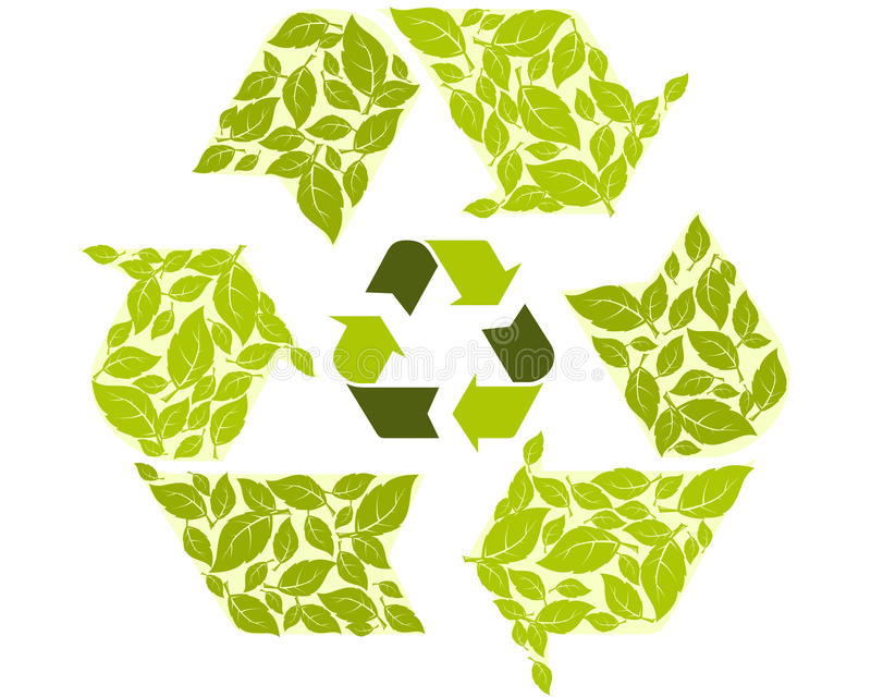 Download Recycling symbol stock vector. Image of cycle, recycling - 20874319