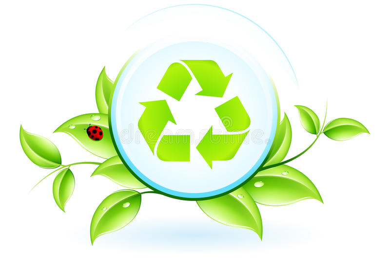 Download Recycling Symbol stock vector. Image of environment, environmental - 25280932