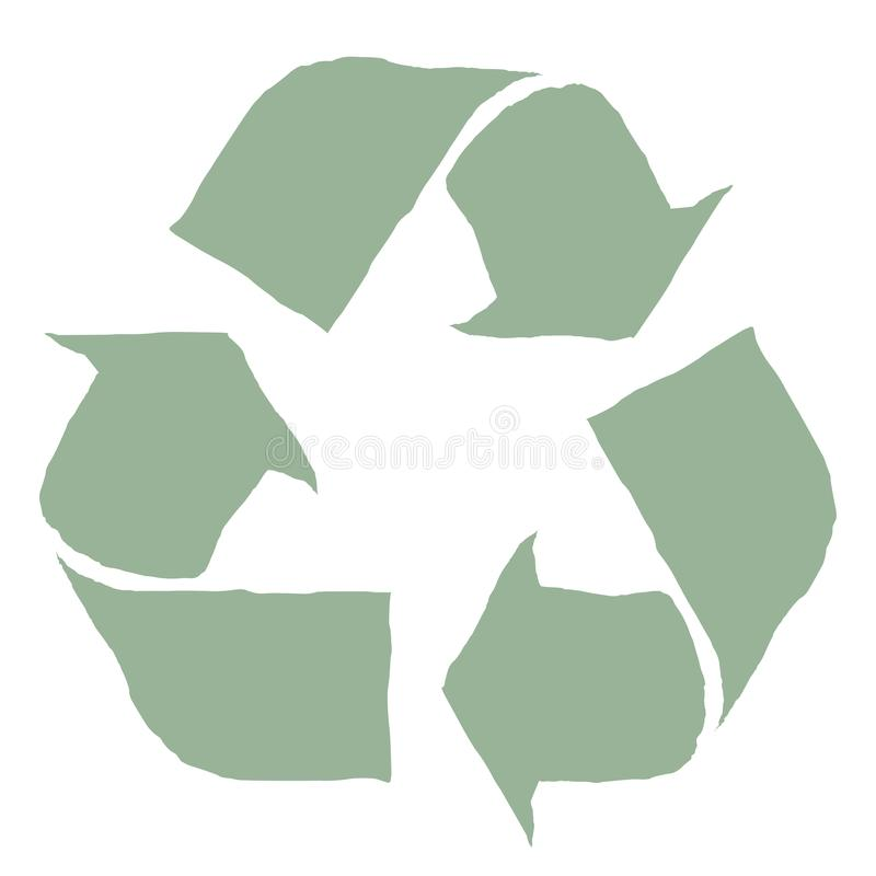 Recycling Symbol Free Stock Photography