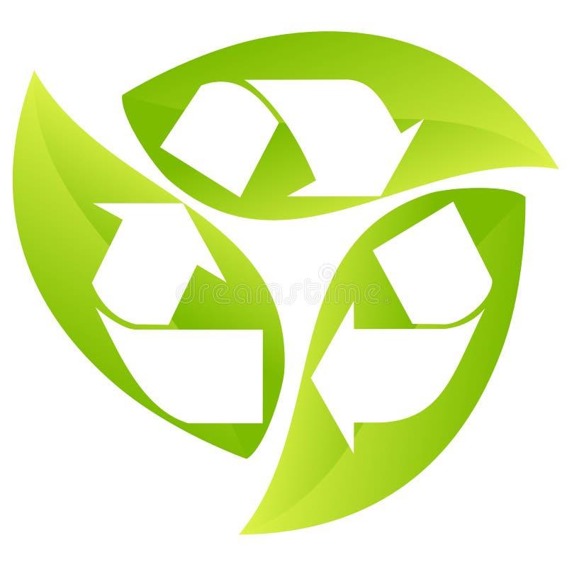 Recycling - teken vector illustratie