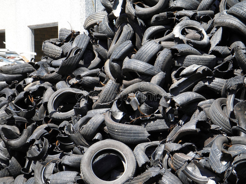 Download Recycling  tires stock image. Image of trash, recycling - 9230095