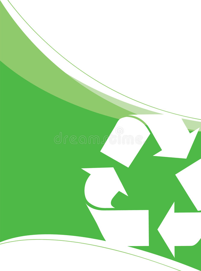 Download Recycling Vector Layout stock vector. Image of environmental - 8124251