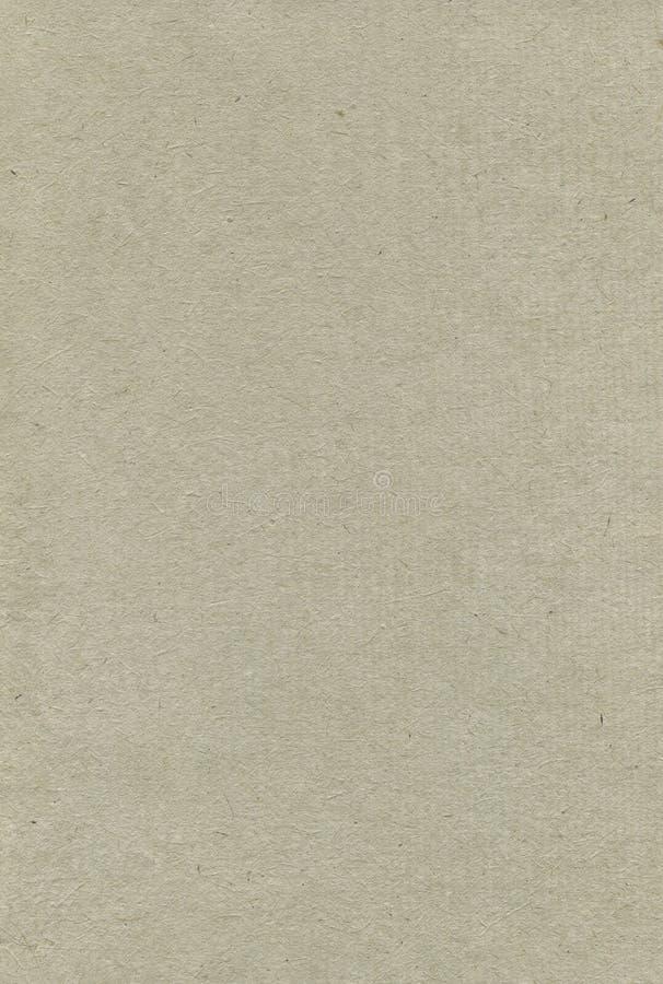 Recyclingpapier-Beschaffenheits-Muster-Hintergrund, vertikale Pale Grey Beige Tan Taupe Textured-Makronahaufnahme, rauer Gray Nat stockfotografie