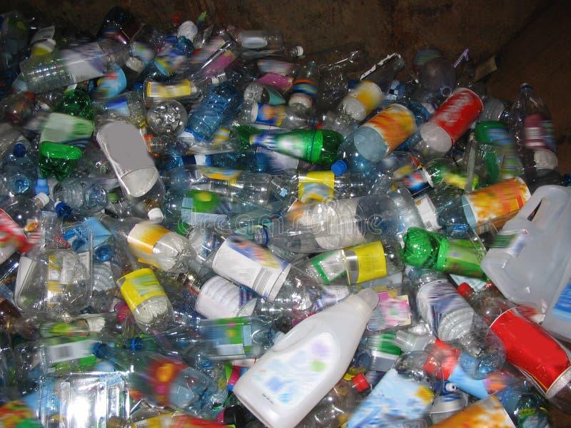 recyklingu butelek obrazy royalty free