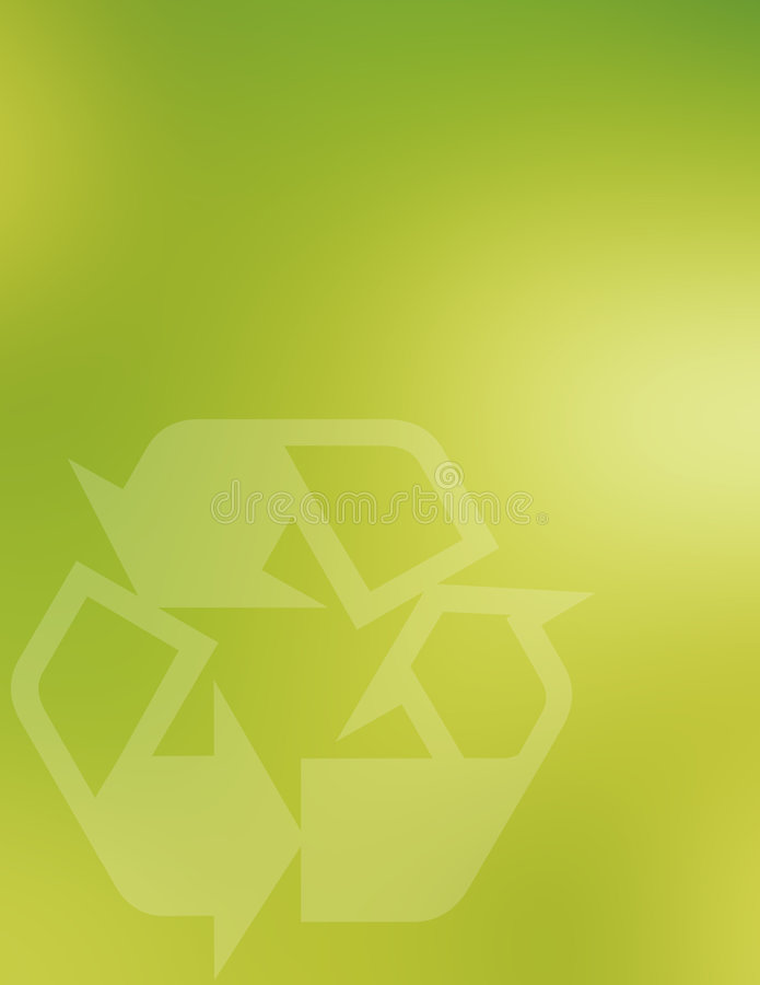 recyling的背景 向量例证